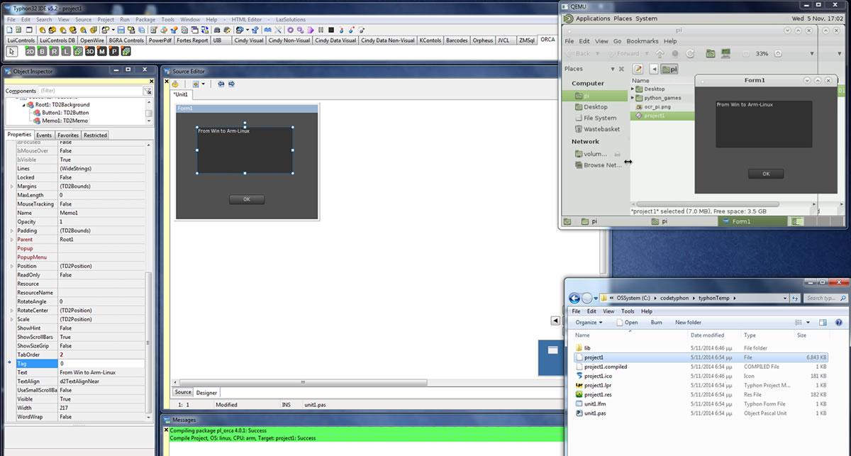 Cross-Build for RasberryPi
