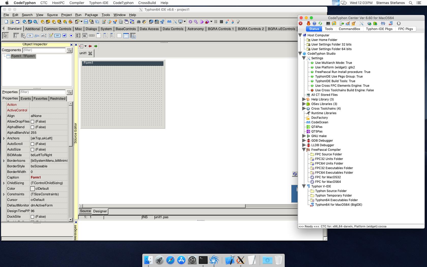CT on MacOS 10 14