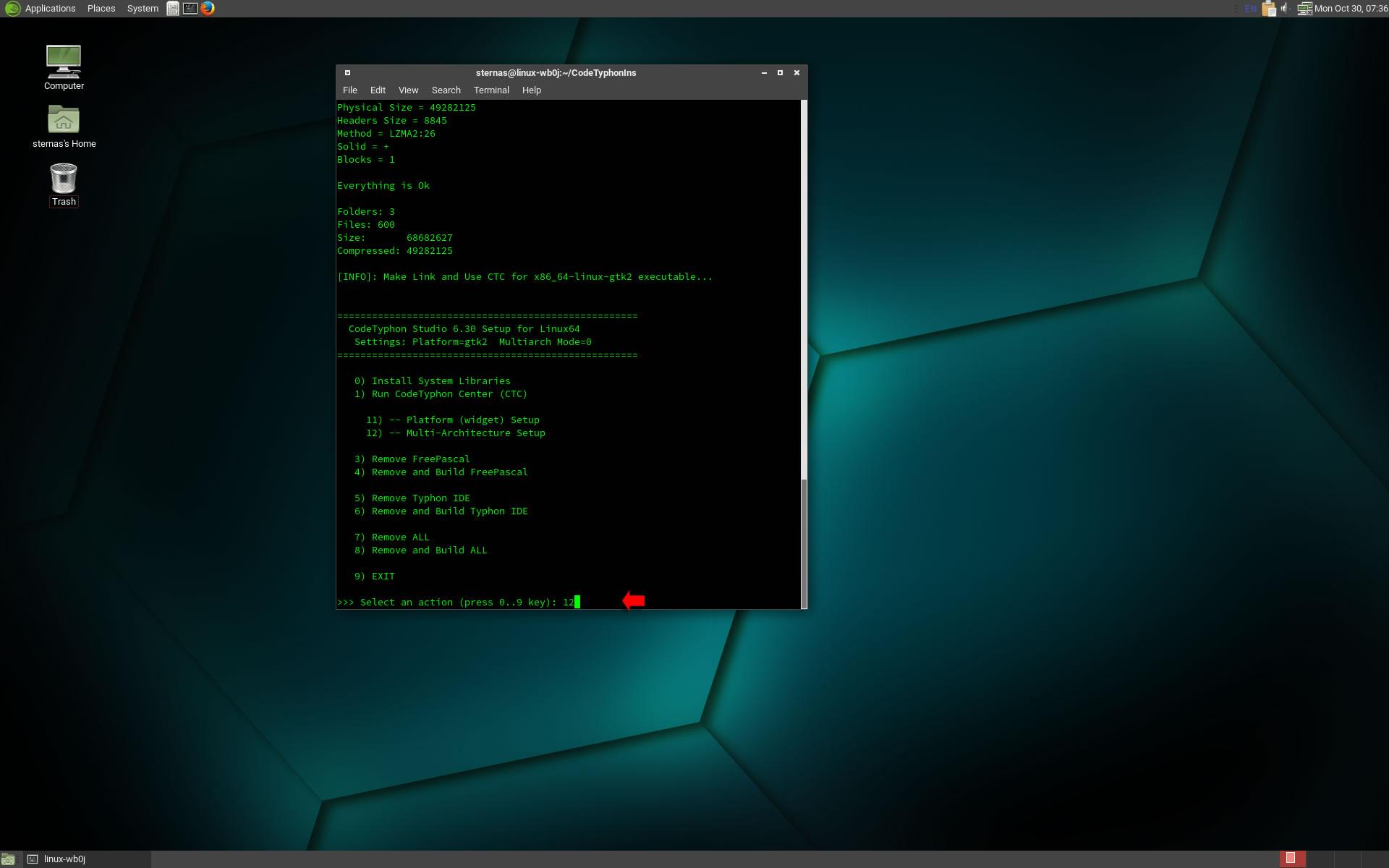 CT on openSUSE Tumbleweed