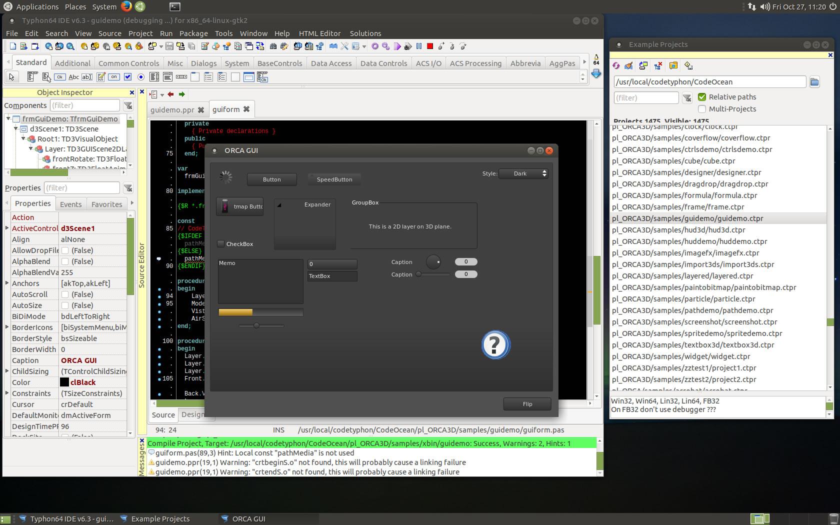 CT on Ubuntu 17 10 MATE