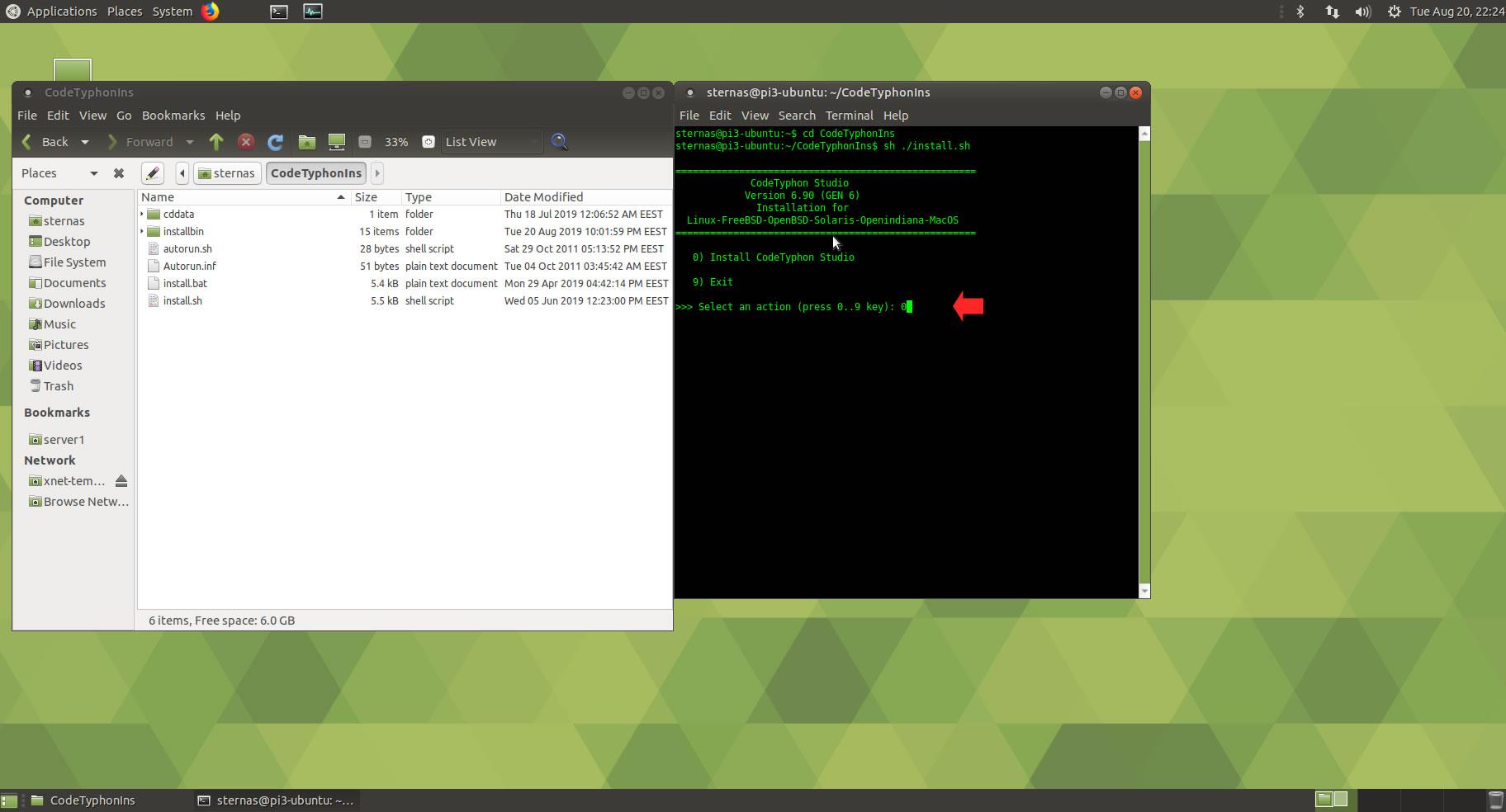 CT on Ubuntu 18 02 AArch64