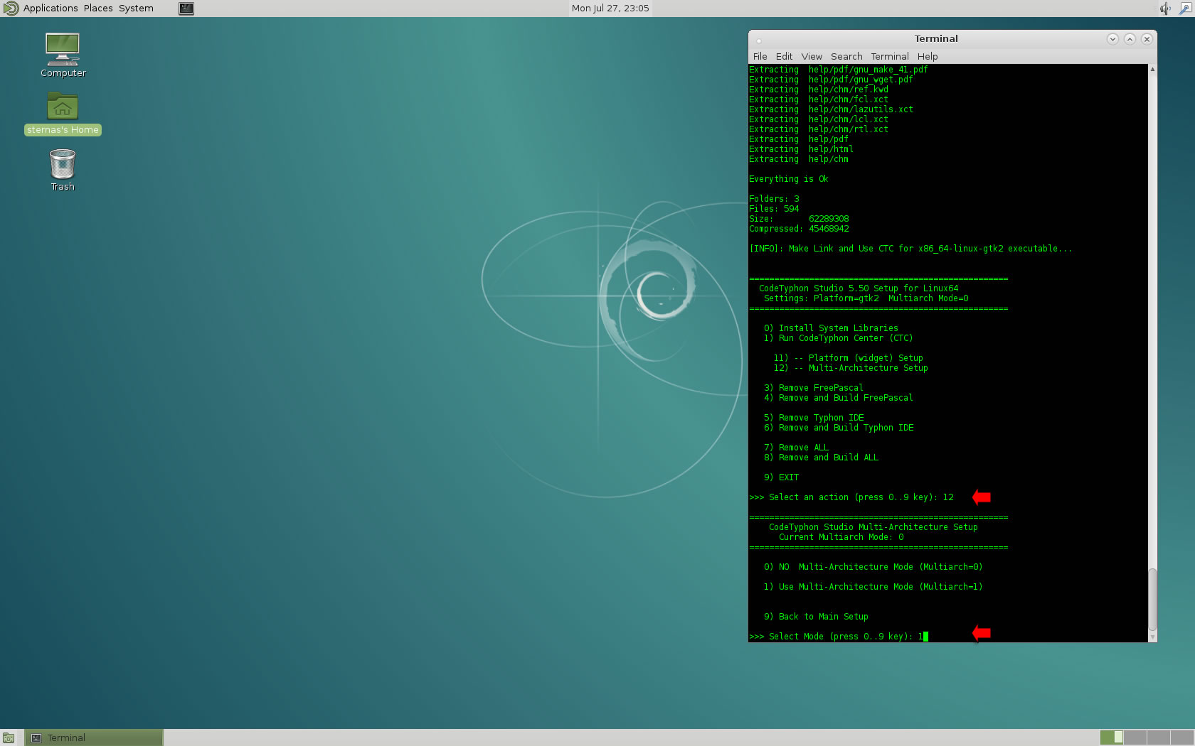 LAB] CodeTyphon on Debian 8 x - Index