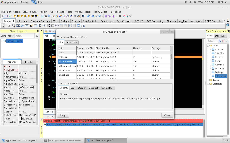 IDCoderMIME unit problem in CentOS 7 64bit CT 5 5 - Index